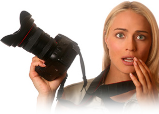 Gegen Flecken auf den Bildern - professionelle Nassreinigung des Bildsensors